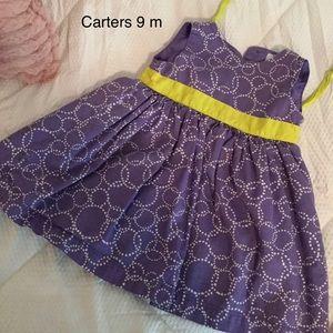 Carter's 9M Girls Dress